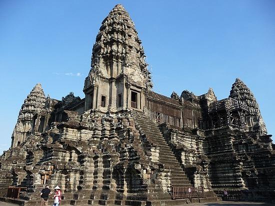 Angkor Wat centre