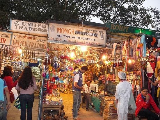 New Delhi - Janpath - Market Area