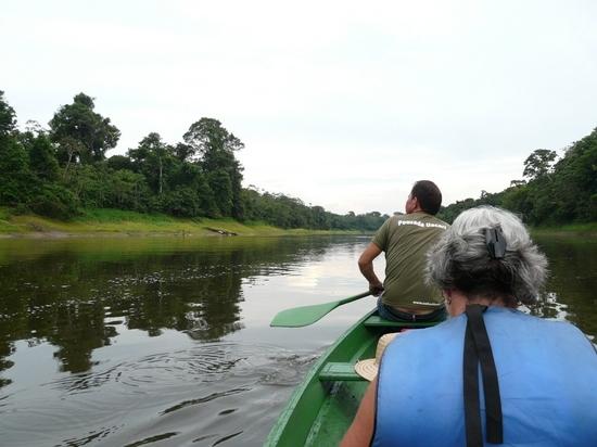 Mamiraua - By canoe