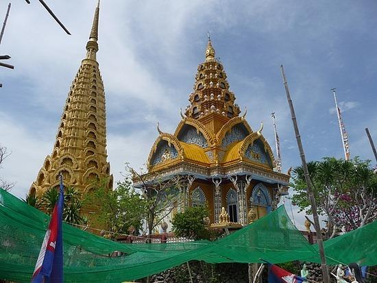 Tuk-tuk outing - Phnom Sampov 2