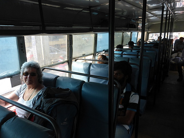Bus from Chennai - tout confort!