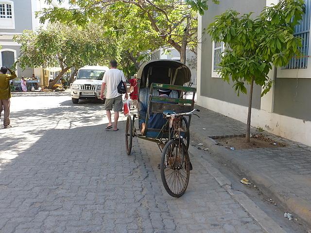 Bicycle rickshaw - not many around these days