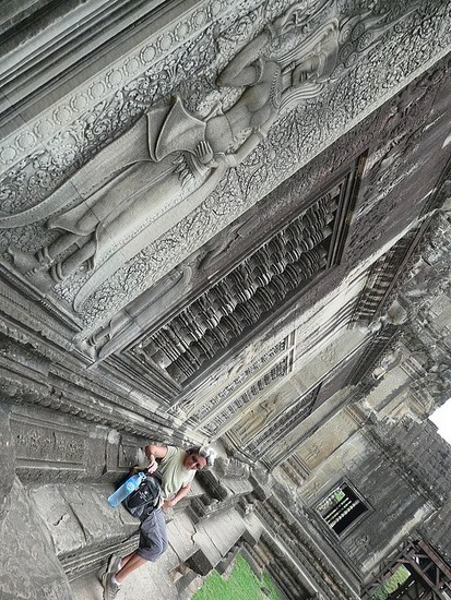 Angkor Wat detail   Lindsey