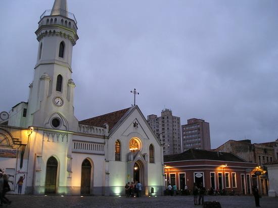 Curitiba - Historic area with resto