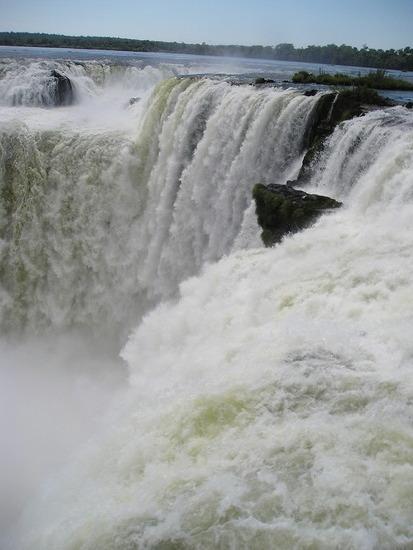 Iguazu Argentina Devil's Throat
