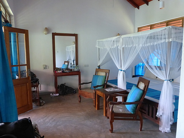 Guest house - spacious bedroom
