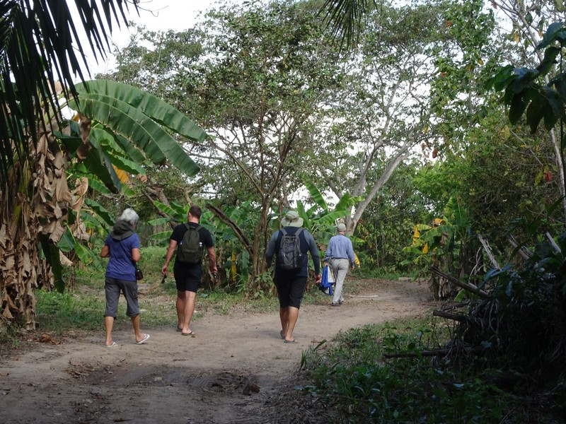 Pantanal Extreme Tour - The walk to the boat landing