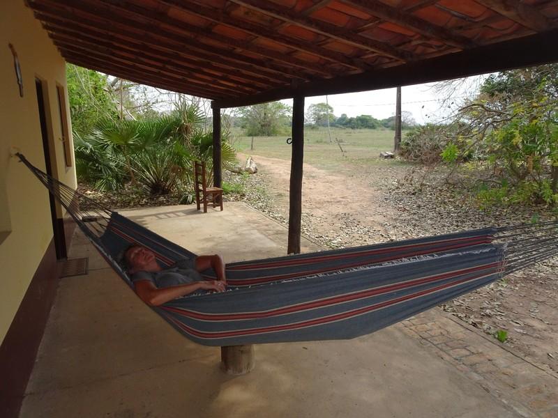 Pouso Alegre lodge - in the hammock
