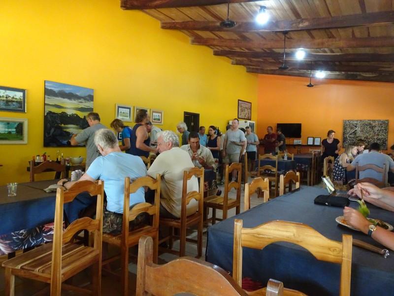 Pouso Alegre Lodge lunch