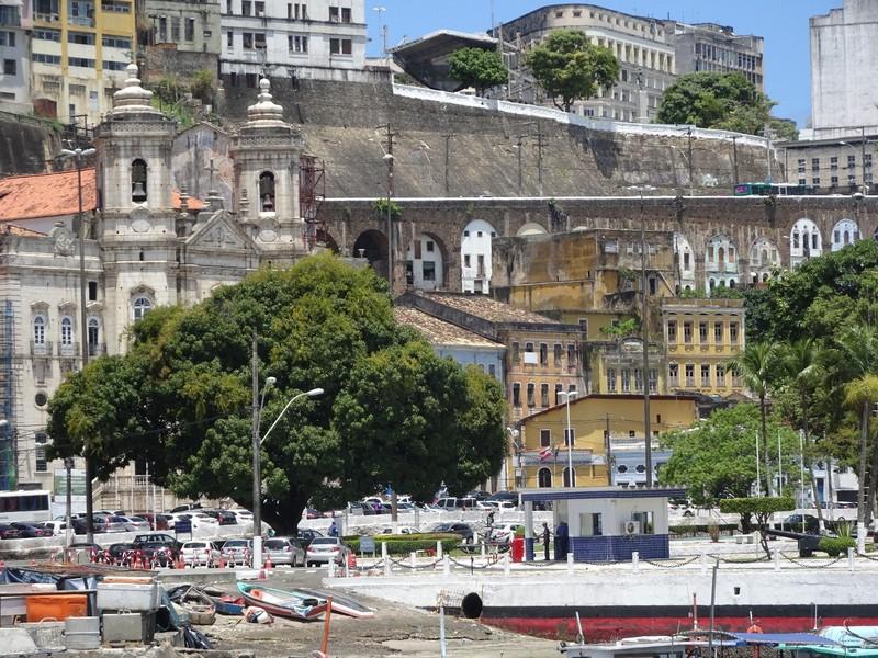 Salvador - port area