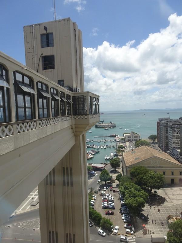 Elavador and view