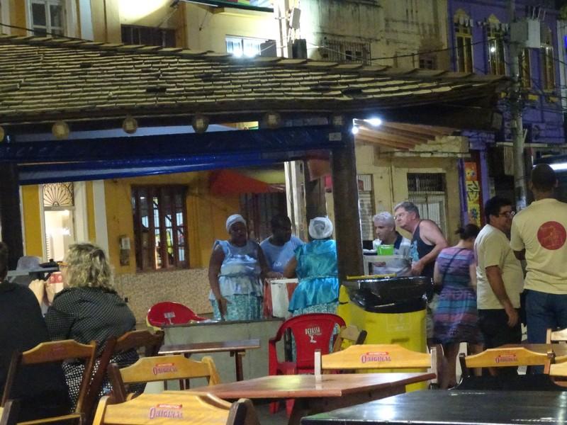 Rio Vermelho - Dinha's Acaraje stand