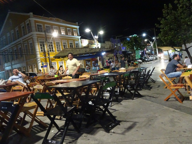 Evening out in Rio Vermelho