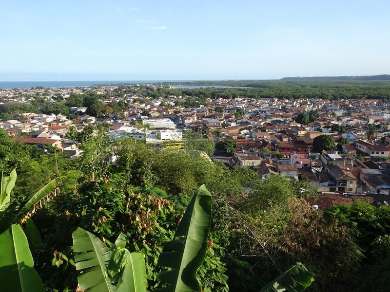 Porto Seguro from our hotel pool area