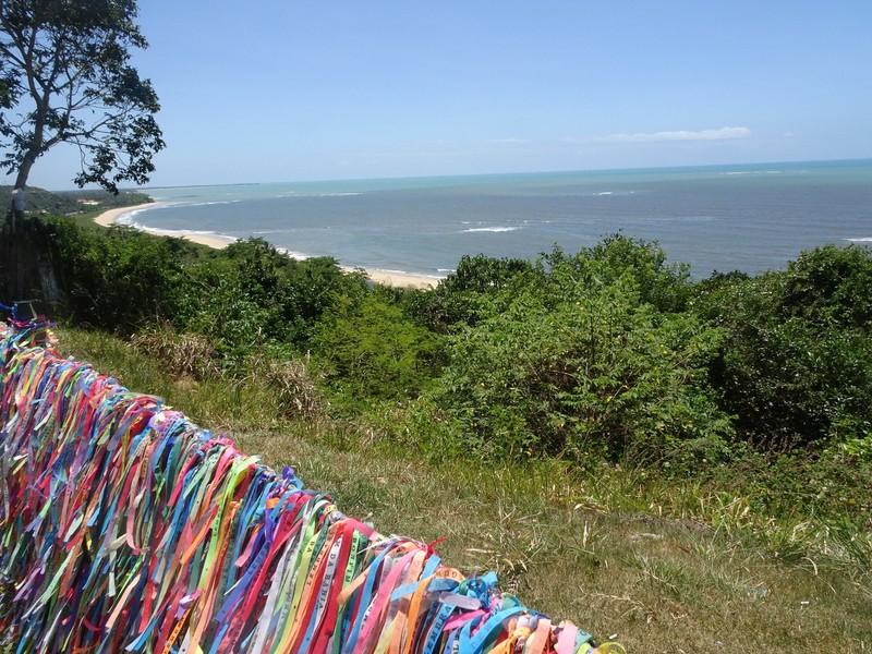 Centro historico - view up coast