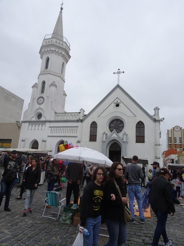 Sunday craft market in Centro Historico