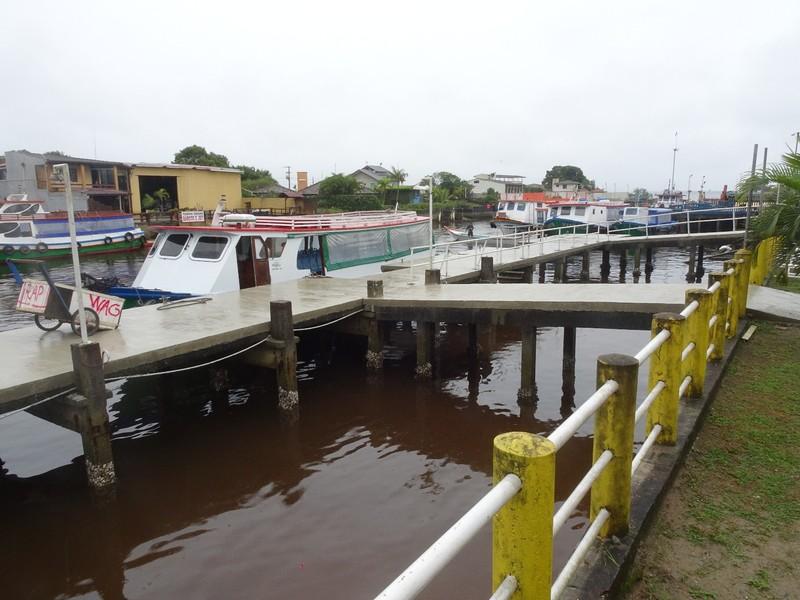 Pontal do Sul Embarcation for Ilha do Mel
