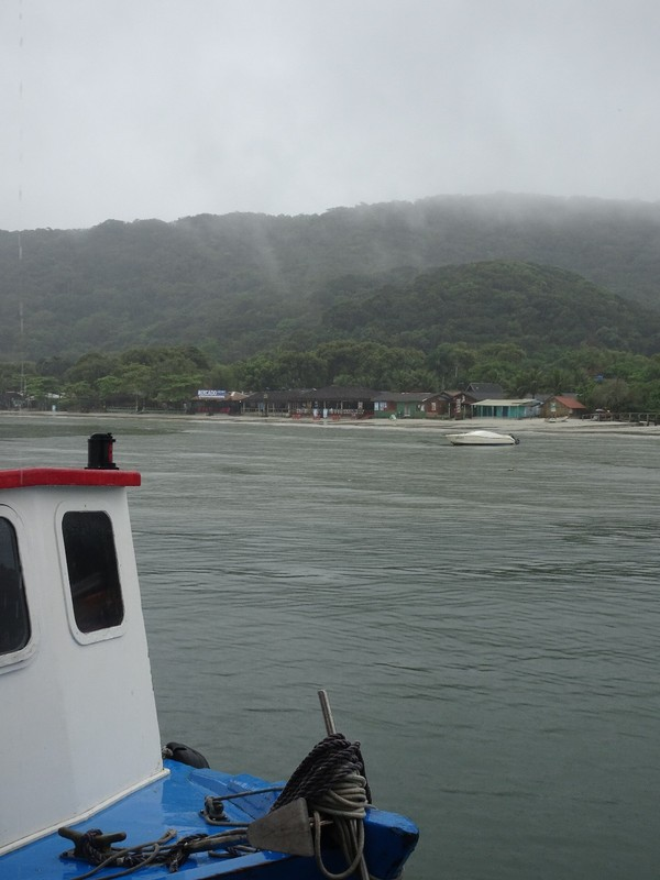 Leaving Encandantes in deteriorating weather!