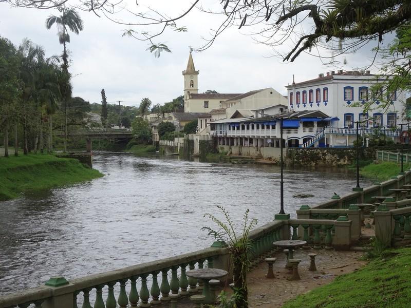 Nhundiaquara river in Morretes