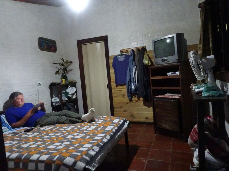 Pousada Cabanas do Curupira - our cabin bedroom