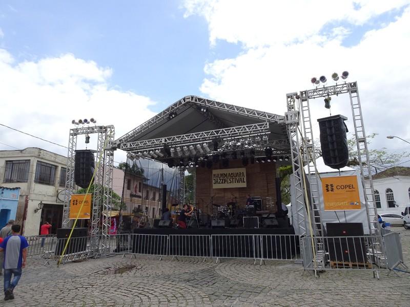 Nhundiaquara Jazz Festival preparation