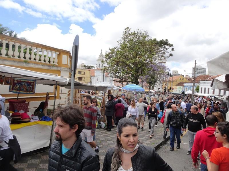 Around Curitiba Sunday Artisan market