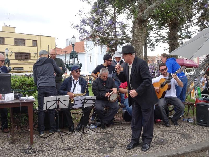 Around Curitiba Sunday Artisan market - reminiscent of Buena Vista Social Club