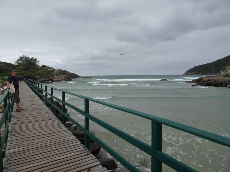 Bridge to Armacao headland