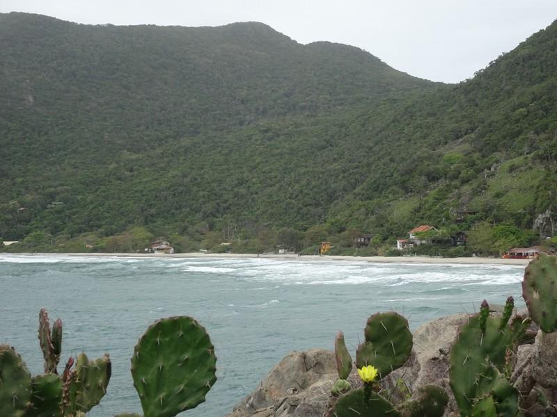 View from headland at Armacao - Matadriro beach