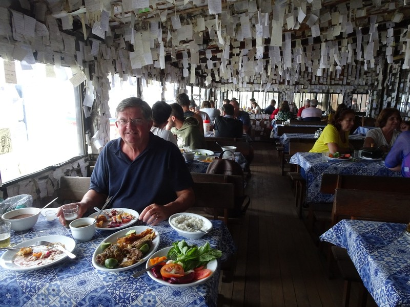Lunch at Arante Bar, Pantana do Sul