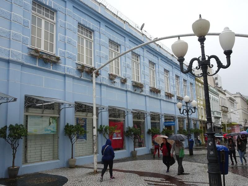 Around Florianopolis centre in the rain