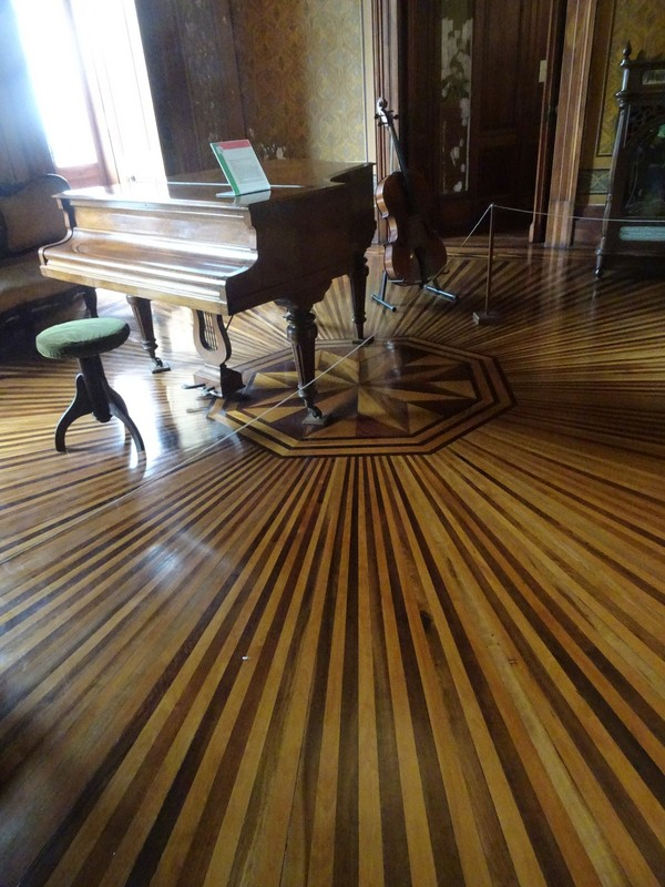 Museo Historico - superb wooden floors