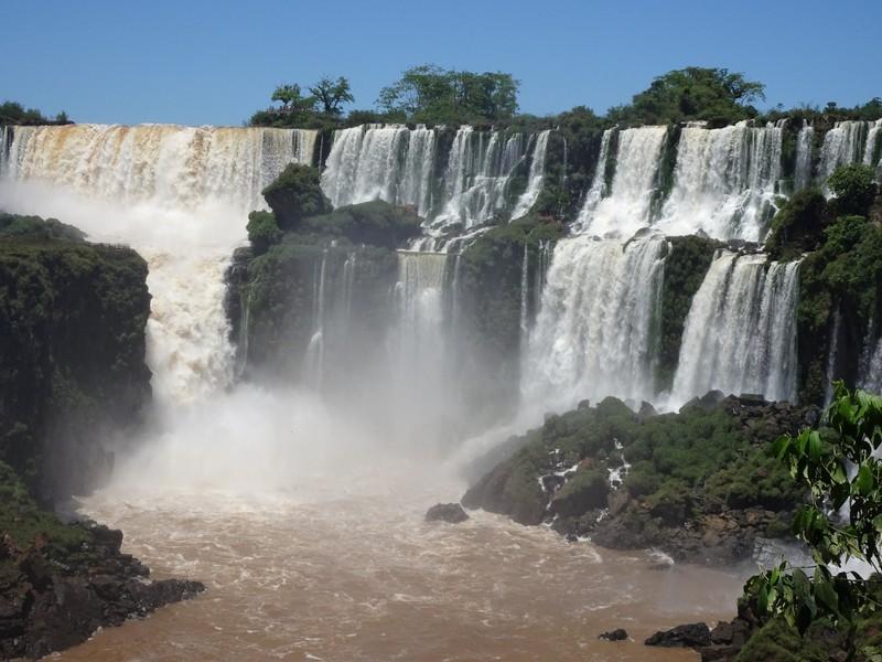 Iguazu Falls Argentina side - San Martin falls