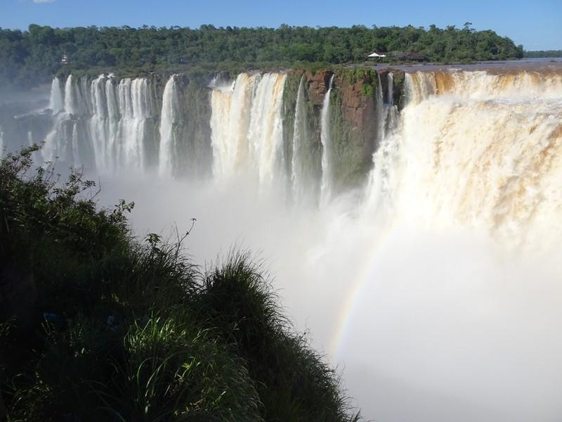 Iguazu falls Argentina - Garganta del Diablo (Devil'sThroat)