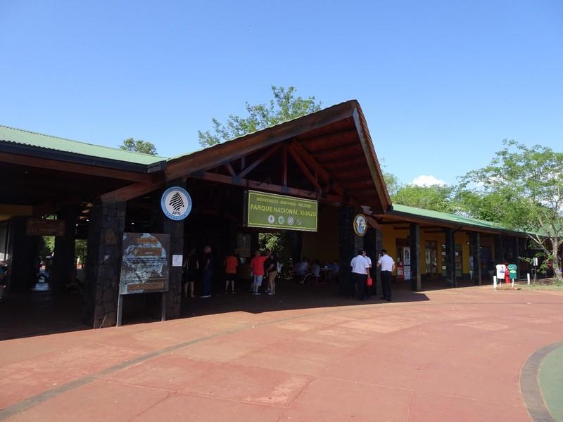 Iguazu Falls Argentina - entrance