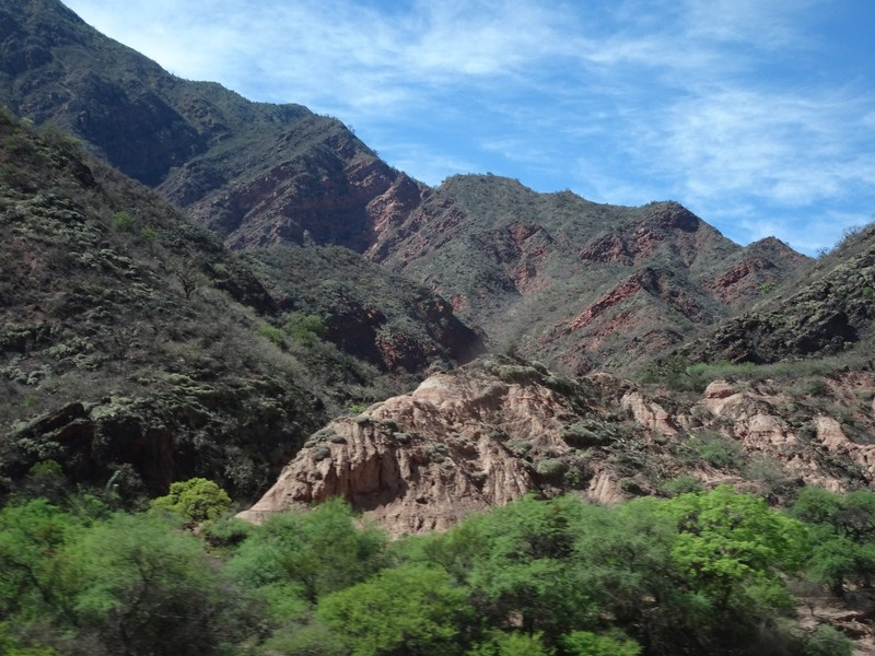 On the way to Cafayate