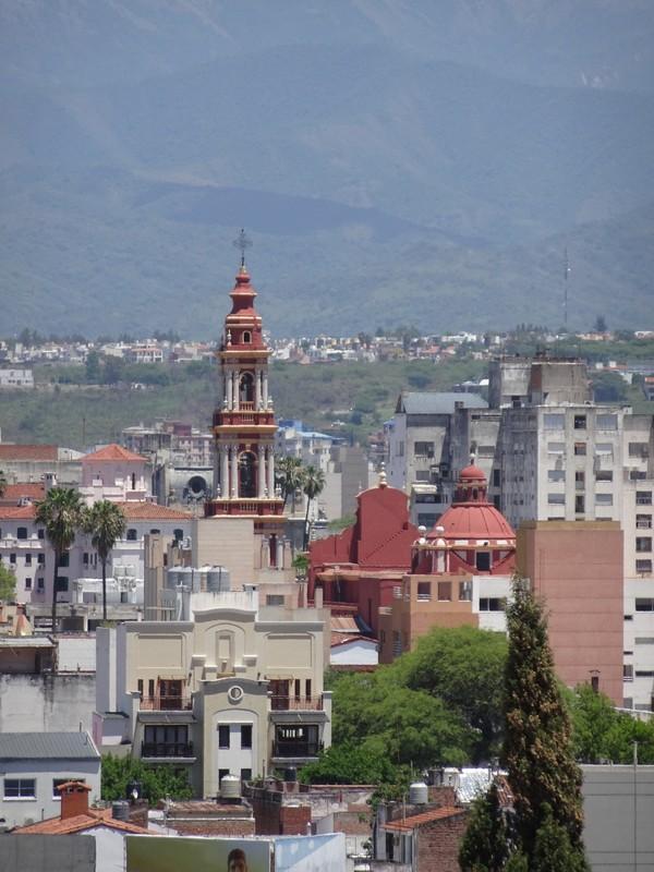 Basilica San Fernando from San Bernando Hill