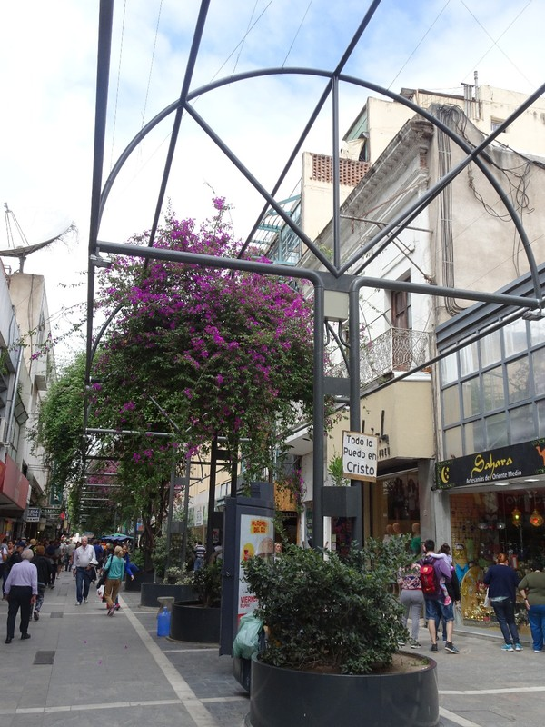 Cordoba - central pedestrian area