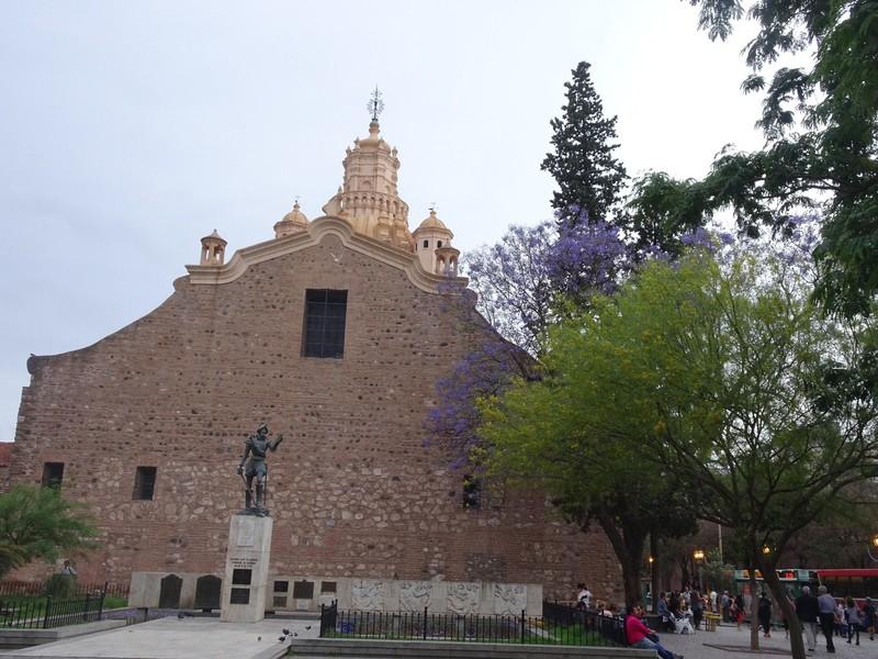 Cordoba - central pedestrian area - Plaza del Fundador