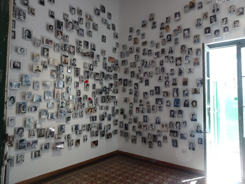 Museu de la Memoria - in memory of the 'disappeared'