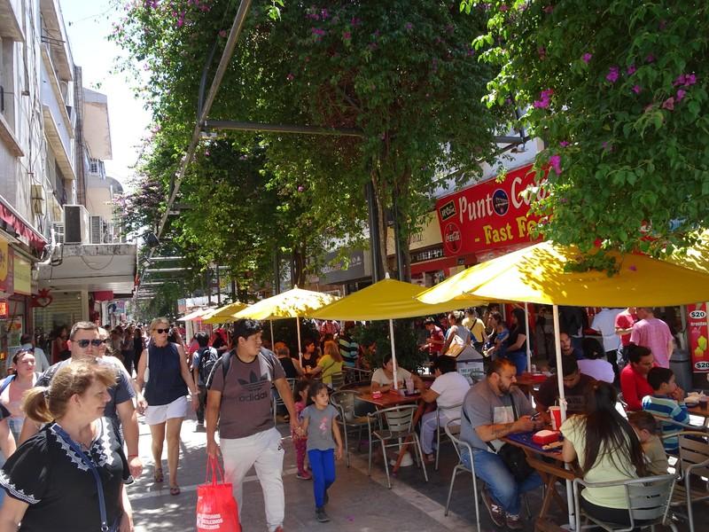 Cordoba centre pedestrian area