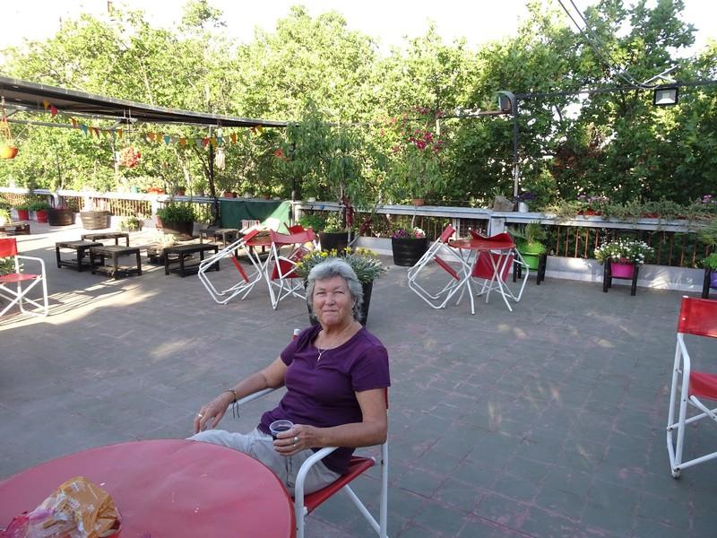 Hostal Confluencia - roof garden