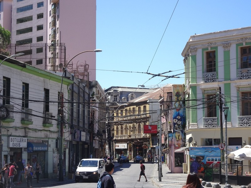 Around Valparaiso town