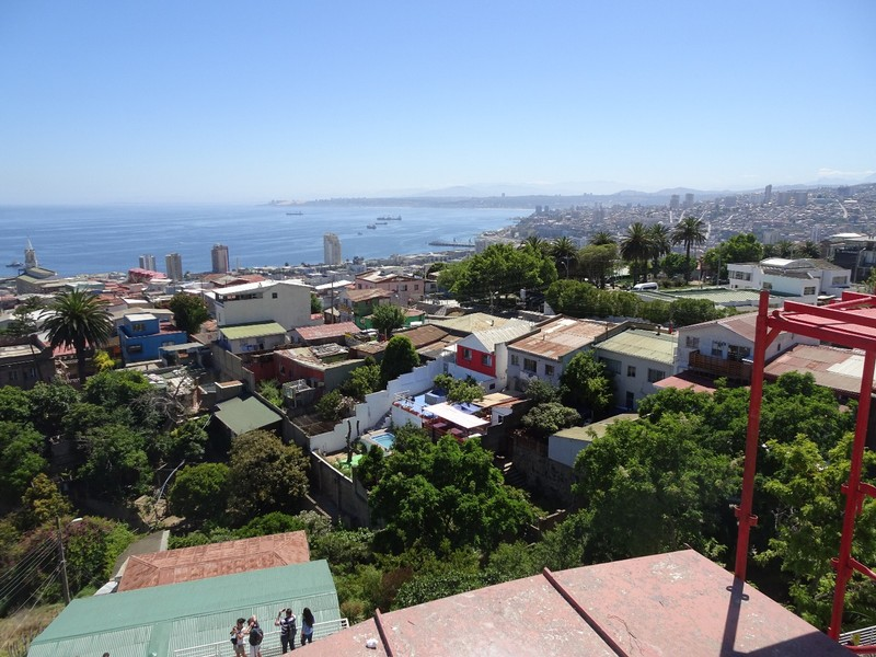 Panoramic view from La Sebastiana 2