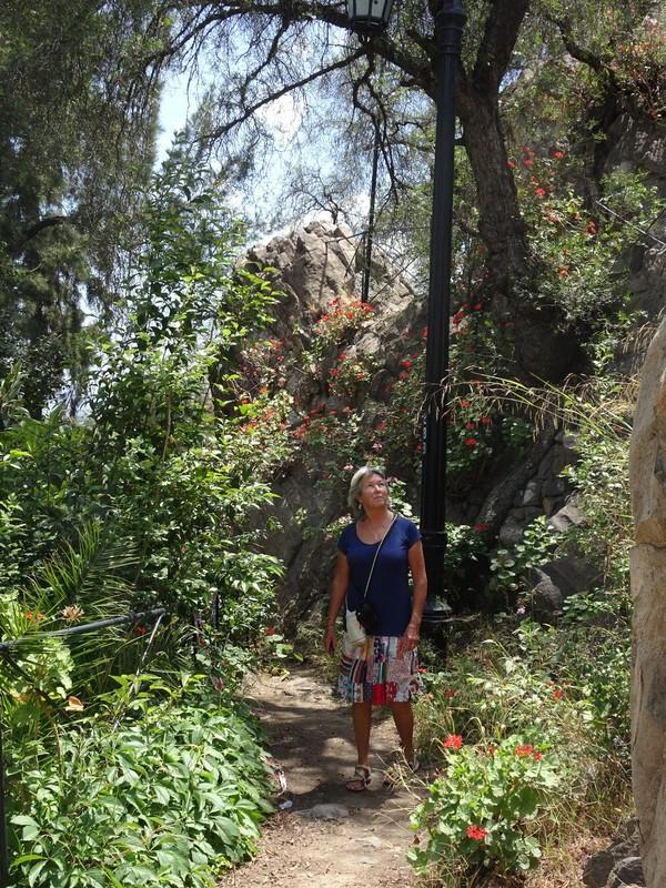 Cerro Santa Lucia Park