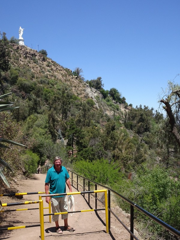 Serro San Cristobel Park - steep path down!