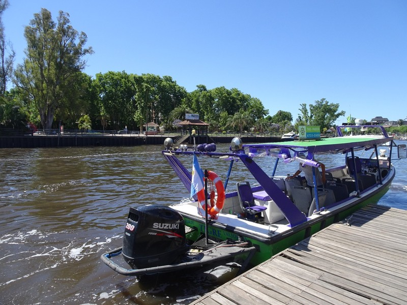 Tigre - our boat for 1 hour tour