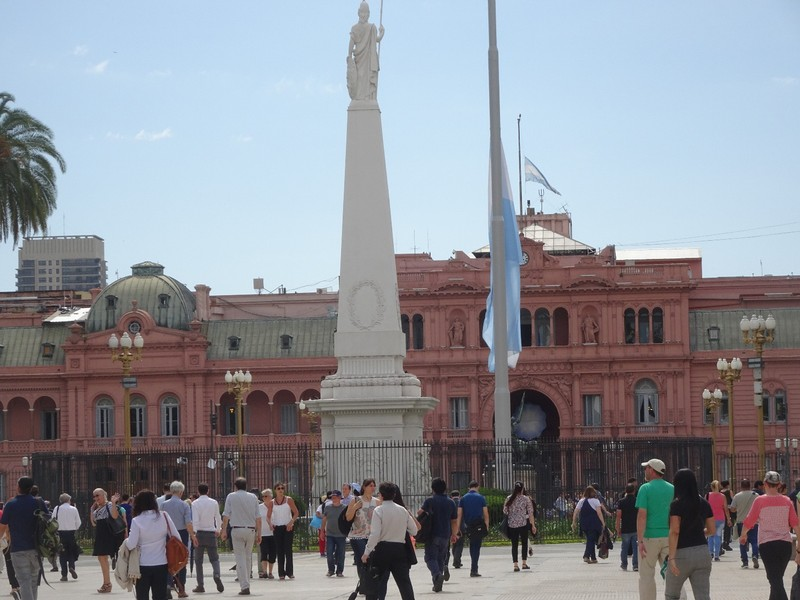 Casa Rosada - Government House (the executive mansion and office of the President of Argentina)