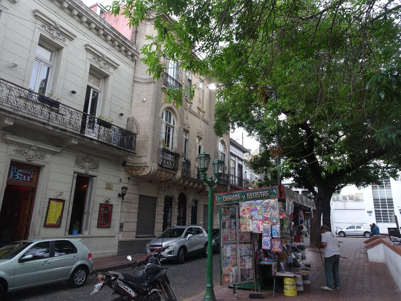 San Telmo - visit on grey day