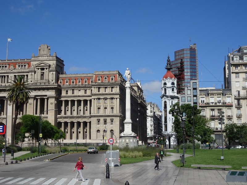 Around the city centre - near Teatro Colon